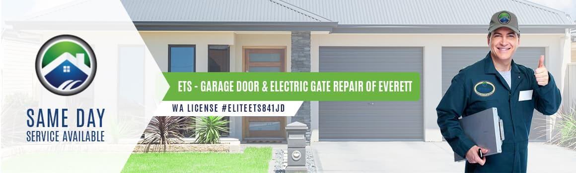 ets garage door electric gate repair of everett wa